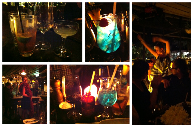 Fashionable Drinks at Gazebo