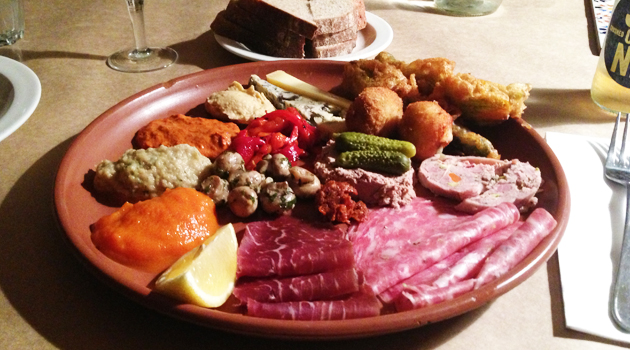 Grazing plate, $45