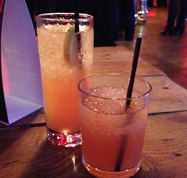 Cocktails at the Maker's Mark celebration evening