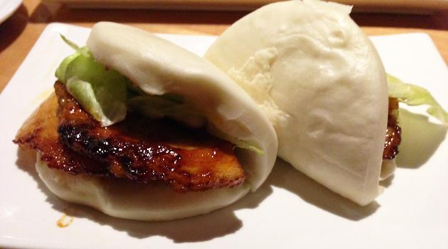 Ippudo pork bun, $4 (Steamed bun with braised pork and IPPUDO original sauce)
