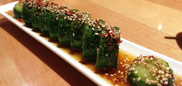 Goma Q, $7 (Japanese cucumber with sesame sauce)