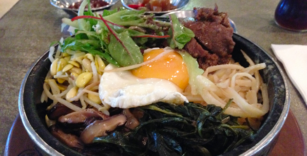 Bulgogi Bibimbap, $6.90 (lunch menu)