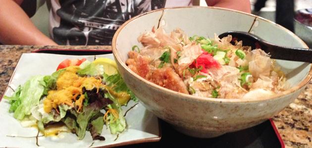 Katsu don bowl