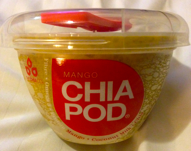 Chia Pod dessert from Woolworths