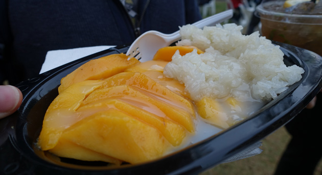 Sticky Rice with Mango from Span Thai, $12