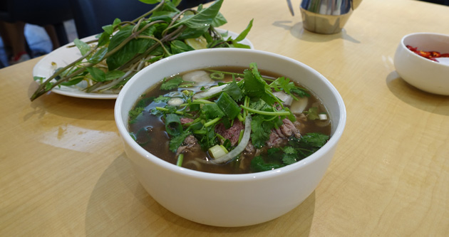 Beef Noodle Soup (Medium), $13