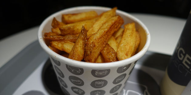 House made chips with chipotle chilli, $4.90