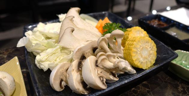 Assorted vegetables, $6.80