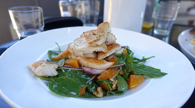 Maple Roasted Pumpkin & Chicken Salad ($17)