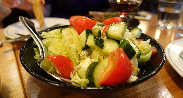Cobb salad, $10