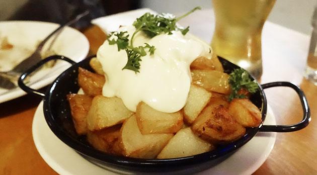 Patates con Aioli