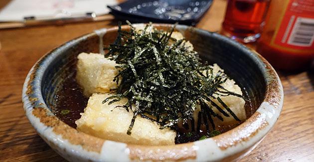 Agedashi Tofu, $5.80