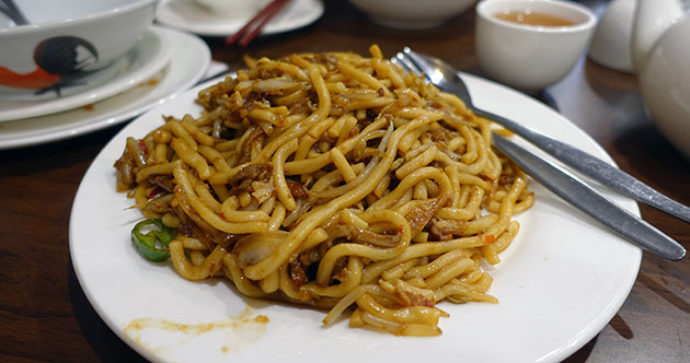 XO Duck Fried Noodles