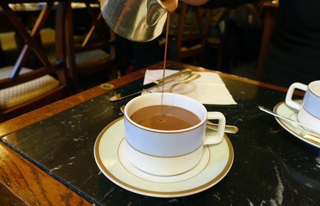 Chocolat chaud Laduree ($7.30 EU)