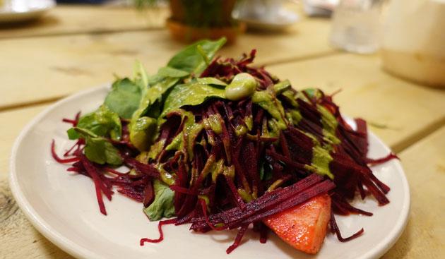 Small summerbeet salad ($5.50EU)