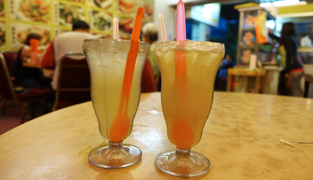 Fresh Orange Juice and Fresh Lime Juice, $3RM each