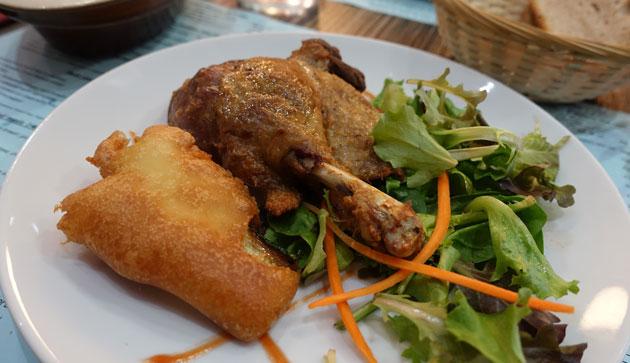 Grilled Duck Confit