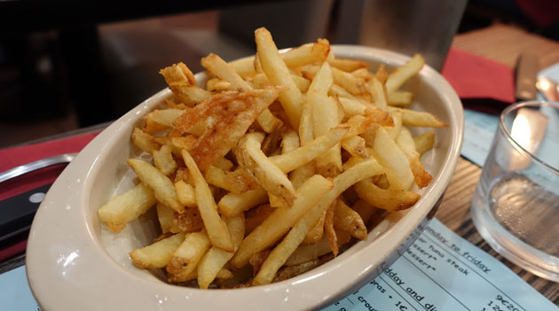 Home-made french fries at will