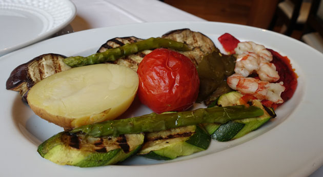 Review elche barcelona spain gourmanda - Verduras a la parrilla ...