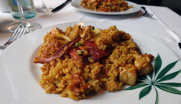 Paella Mixta Parellada Pelada, 16.40 Euro per person (min two people)
