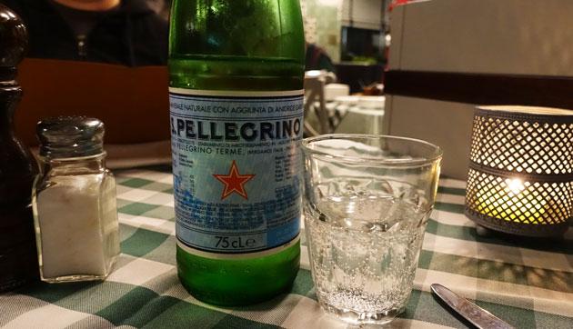 San Pellegrino, 4.90 Euro