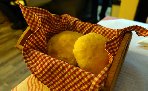 House-baked bread, 50 Serbian Dinar each