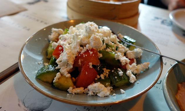 Sopska Salad, 260 Serbian Dinar