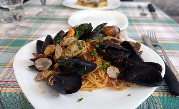 Spaghetti Allo Scoglio, 13 Euro