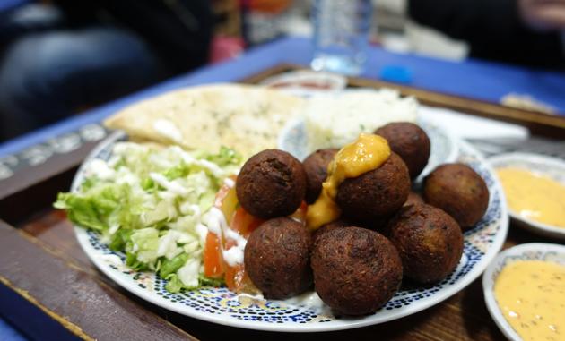 Falafel, 25 Moroccan Dirhams