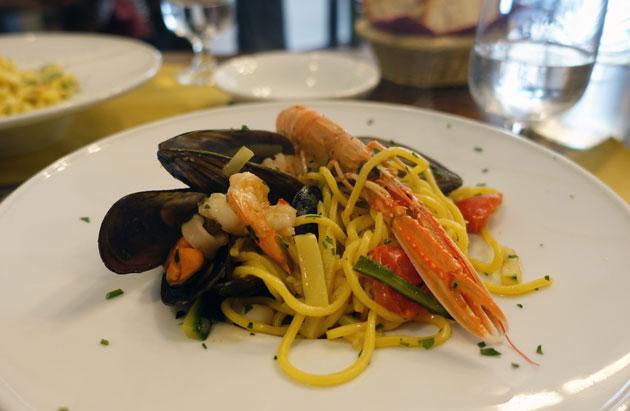 Spaghetti Chitarra, 11.50 Euro