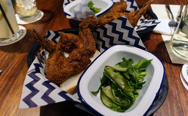 Mission Chinese Chongqing Wings, Cucumber Salad