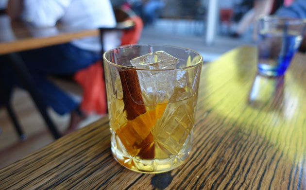 Old Spiced Old Fashioned, $18 AUD